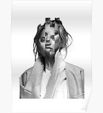 Kate Moss Imperfect Illusion Poster