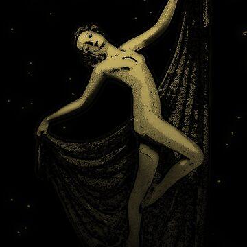 Deco Goddess by Bronzarino