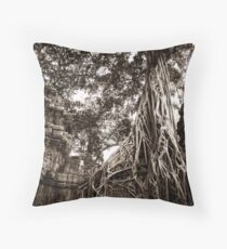 Ta Prohm Throw Pillow