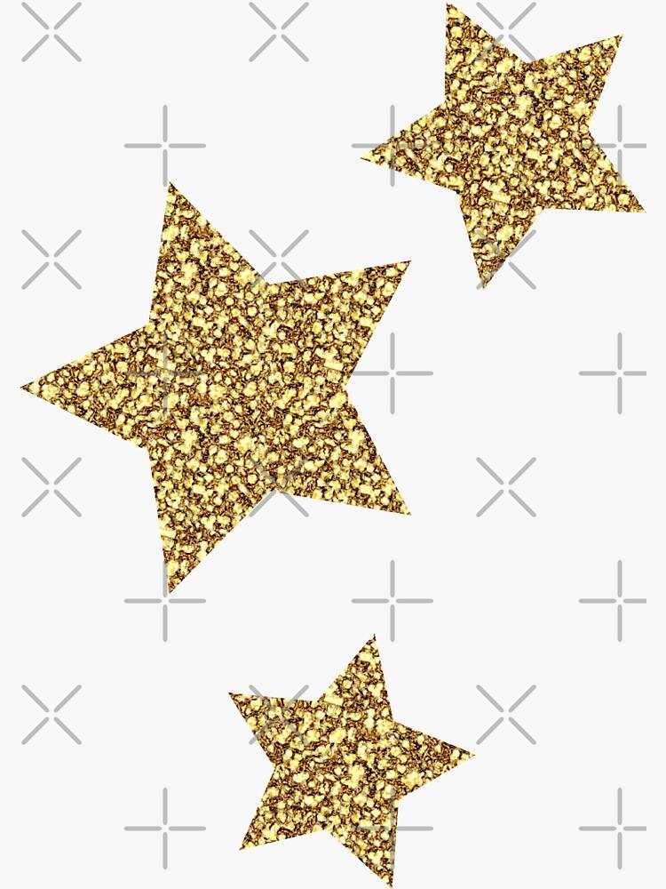 Glitter Stars Trio von Designs111