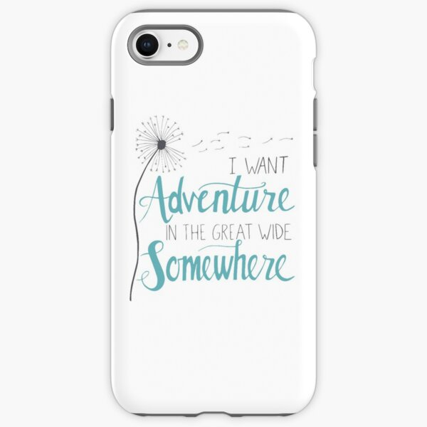 I want Adventure iPhone Tough Case