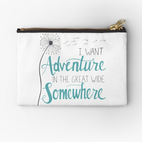 I want Adventure Zipper Pouch