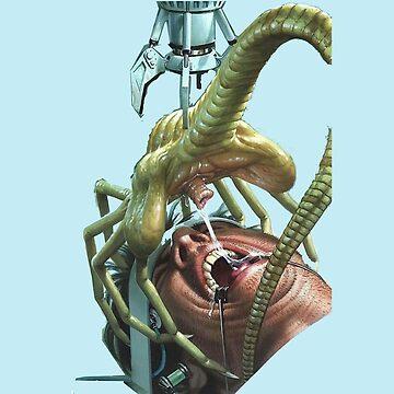 facehugger alien cov enant by unyilusrok