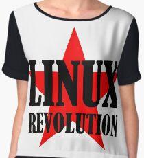 Linux Revolution Large Chiffon Top