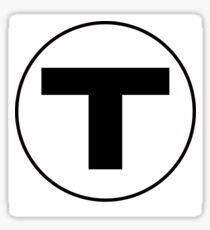 The T Sticker
