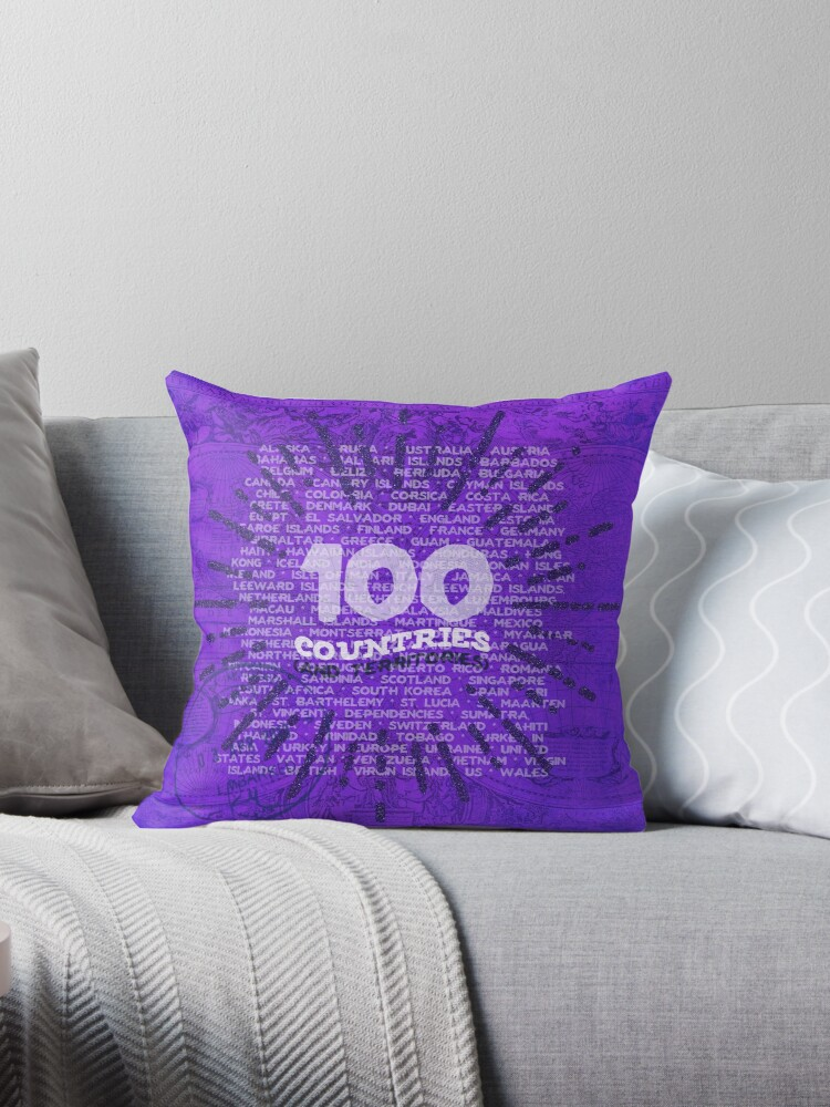 100 Countries - Purple Edition by Deirdre Saoirse Moen