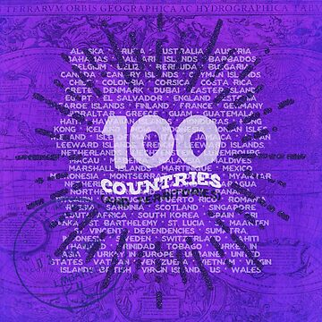 100 Countries - Purple Edition by desamos