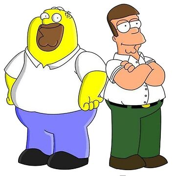 Peter and Homer body switch by PicnicFace