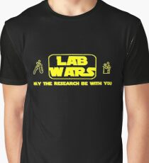 Lab Wars - May the research be with you ! Graphic T-Shirt