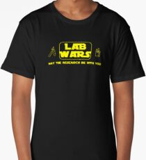 Lab Wars - May the research be with you ! Long T-Shirt