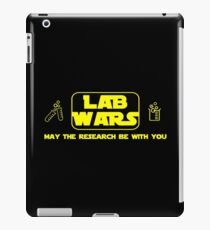 Lab Wars - May the research be with you ! iPad Case/Skin