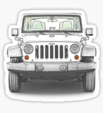 Haha thought this was funny, Jeep Boobie Bouncer Sticker Decal Vinyl Star  Wrangler Military Army