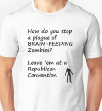 How to Stop a Plague of Zombies Unisex T-Shirt