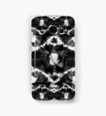 Vintage black and white roses Samsung Galaxy Case/Skin