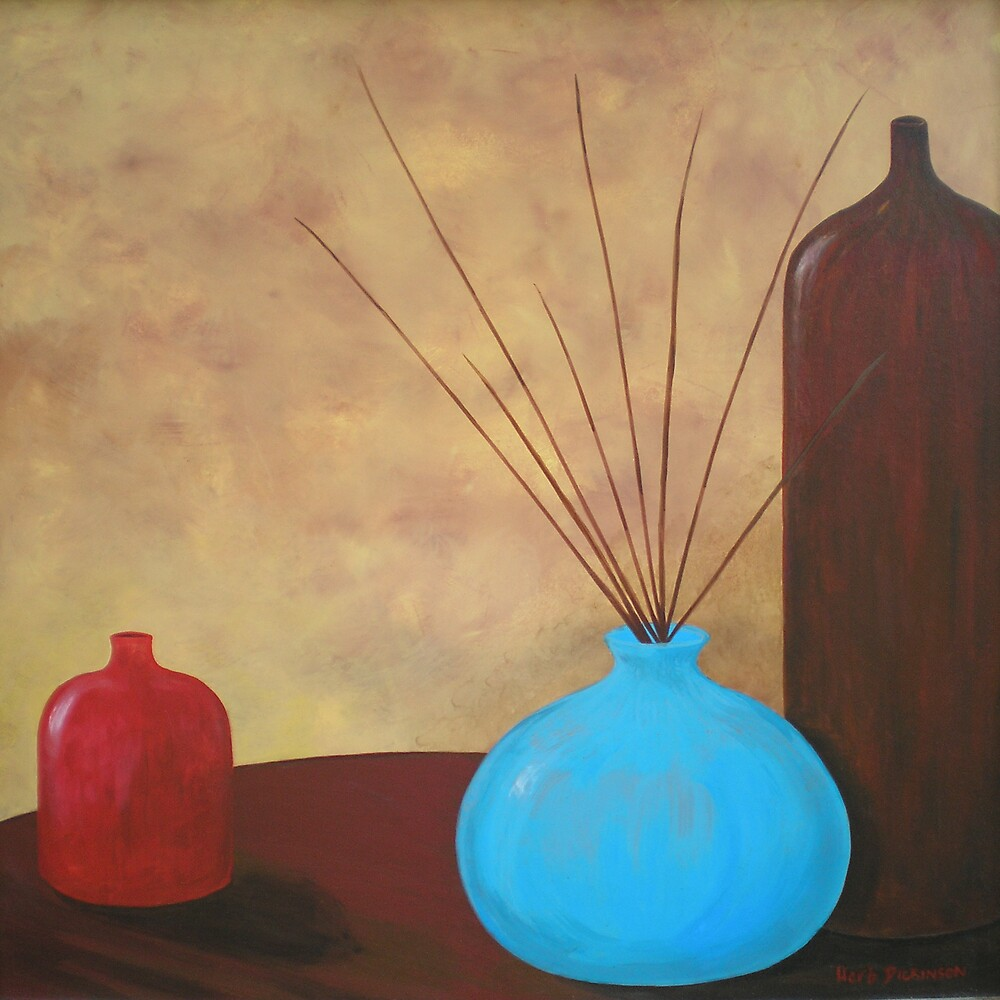 POTS & TWIGS by Herb Dickinson
