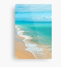 View from Tangalooma Island beach. Metal Print