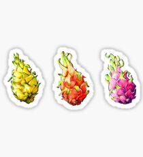 pitaya party Sticker