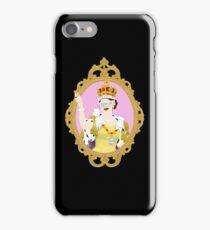 """""""Queens Only"""" - Queen Elizabeth II (ON BLACK) iPhone Case/Skin"""