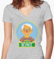 2020 Bernie Street Women's Fitted V-Neck T-Shirt