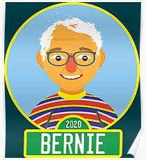 2020 Bernie Street Poster