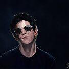 Lou Reed by Joe Humphrey