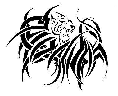 tibal lion tattoo by popoy45