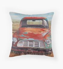 Ecstasy of Color Throw Pillow