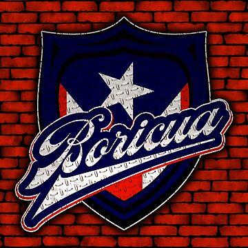 Boricua Badge by CreativoDesign