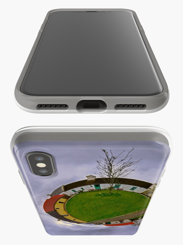 Alternate view of Hanna's Close, County Down (Sky Out) iPhone Cases & Covers