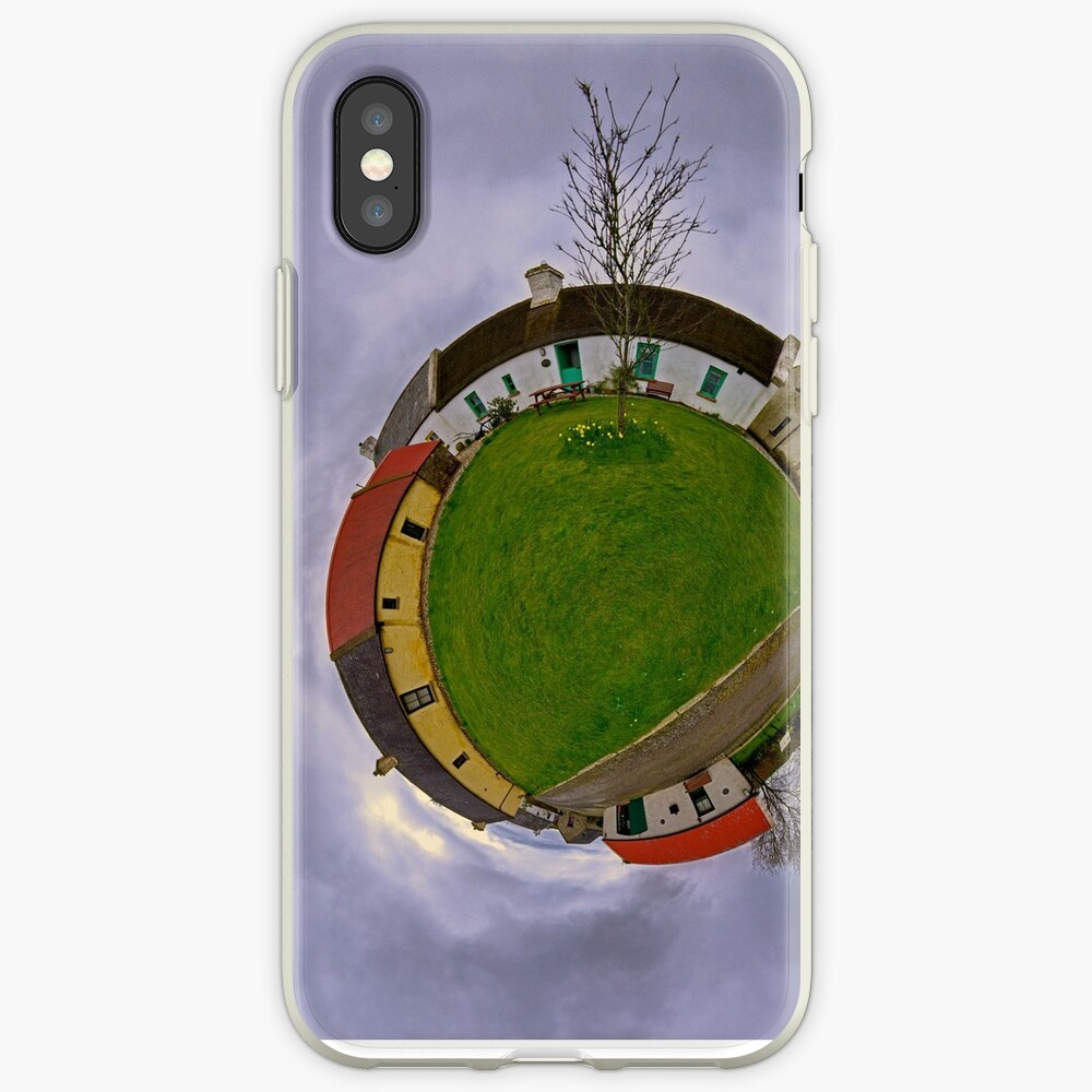 Hanna's Close, County Down (Sky Out) iPhone Cases & Covers