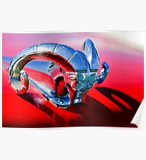 1952 Dodge Ram Hood Ornament -0654c Poster