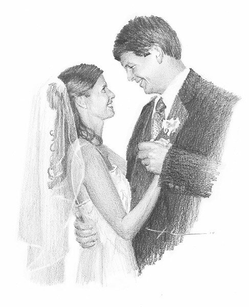 Newlyweds by Mike Theuer