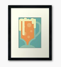 Butterbeer Framed Print