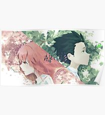 A Silent Voice Poster 2 Poster