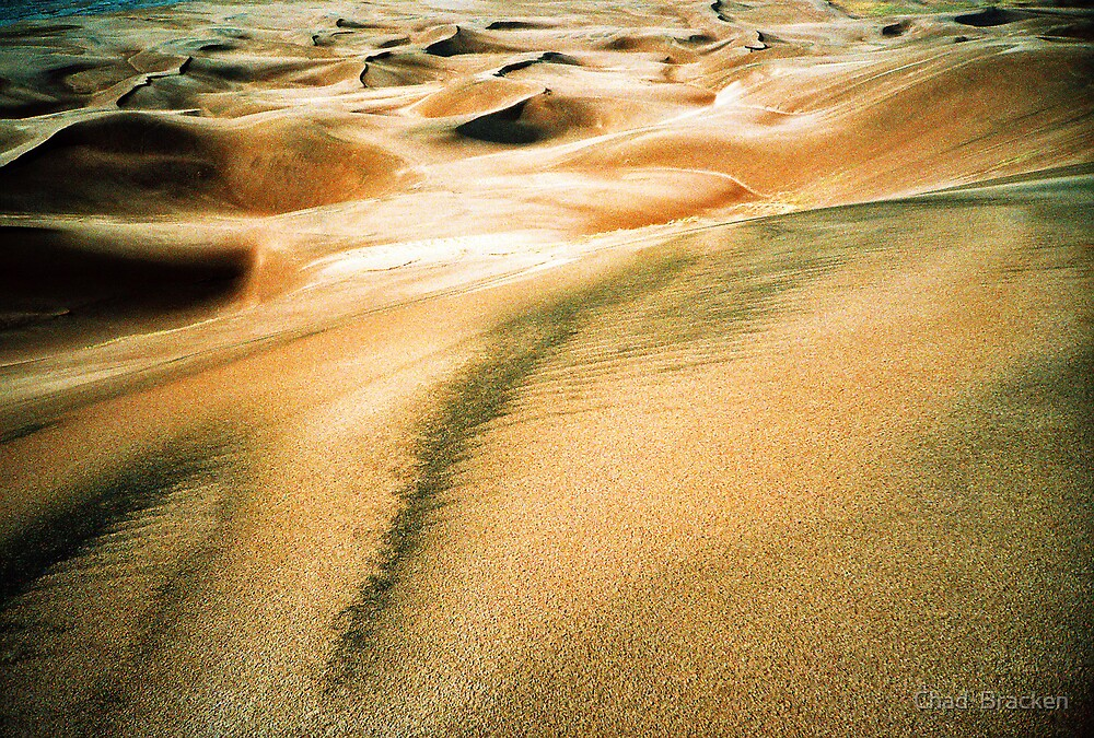 Great Sands After The Rain by Chad  Bracken