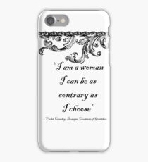 I am a woman iPhone Case/Skin