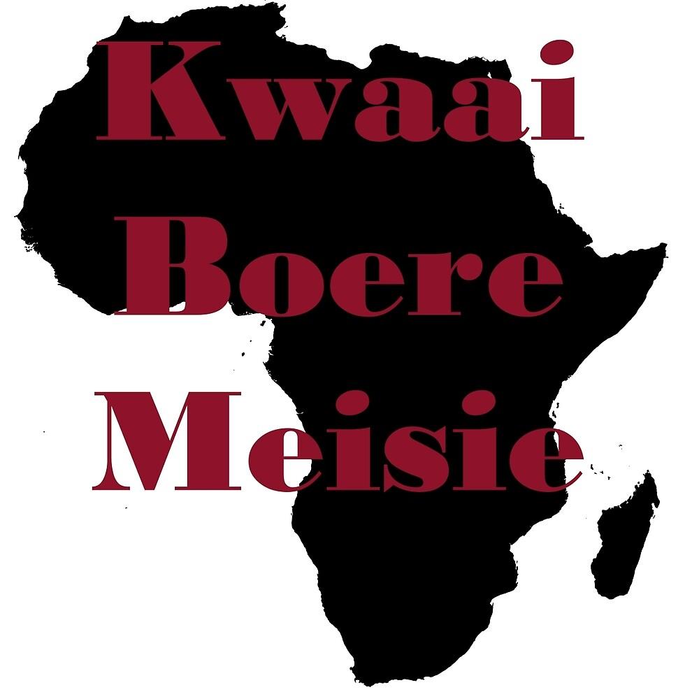 Kwaai Boere Meisie by mopap