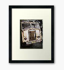 Old Truck ... Long Vehicle Framed Print