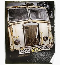 Old Truck ... Long Vehicle Poster