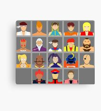 Select Your Character - Street Fighter Alpha 2 Canvas Print