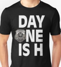 Day one is H Breezango Unisex T-Shirt