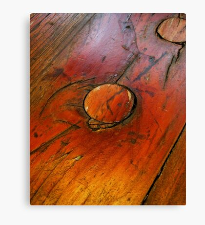 iWood Knot Miss This. Canvas Print