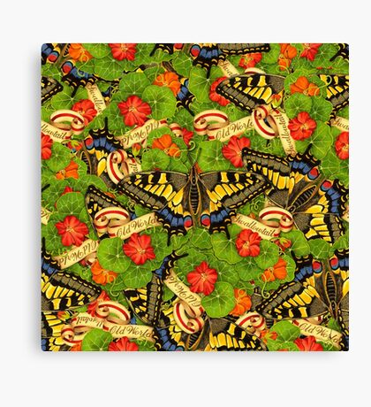 Swallowtail Cacophony  Canvas Print