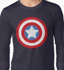 The Captain Shield Long Sleeve T-Shirt