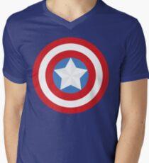 The Captain Shield Men's V-Neck T-Shirt