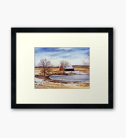 Martin Farm Framed Print