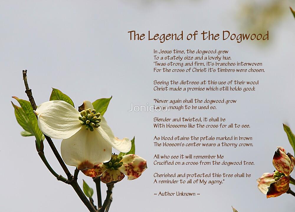 photo regarding Legend of the Dogwood Tree Printable titled Legend of the Dogwood\