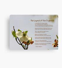 Legend of the Dogwood Canvas Print