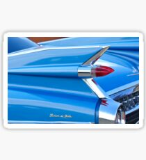 1959 Cadillac Sedan de Ville Taillight Emblem -0132c Sticker