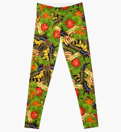 Swallowtail Cacophony  Leggings